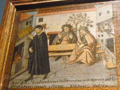 FILIPPO DOLCIATI Storia di Antonio Rinaldeschi, 1501 (dett.); olio su tela e tavola; Firenze, Museo Stibbert