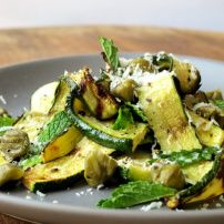 Charred Courgette Ribbons with Capers & Mint Food Pick Up Lines, Bok Choy Stir Fry, Lunches And Dinners, Meals, Malay Food, Spice Things Up, Entrees, Yummy Food, Favorite Recipes