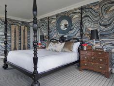 30 Unique Bed Designs And Creative Bedroom Decorating Ideas - 60 Stylish Bedroom Design Ideas - Modern Bedrooms Decorating Modern Bedroom Decor, Stylish Bedroom, Small Room Bedroom, Bedroom Vintage, Home Bedroom, Bedroom Furniture, Furniture Ideas, Modern Bedrooms, Master Bedroom