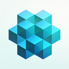 Cubed cube. Made with isometric. - Isometric Art.