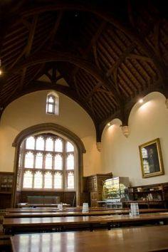 Sir Christopher dining hall low schools dinning hall