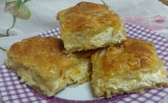 Spanakopita, Greek Recipes, Cornbread, Feta, Kai, Muffin, Food And Drink, Healthy Recipes, Cheese