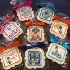 Bitmoji cookies for a special 60th Birthday Celebration @loveylux - See more of our cookies at http://www.ctcookietreats.com