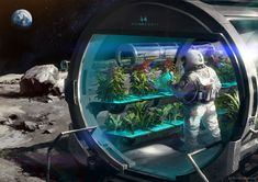 Space Farming , Jay  Wong  on ArtStation at https://www.artstation.com/artwork/space-farming