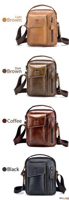 Men's Bags Discreet Men Cowhide Genuine Leather Sling Chest Bag Cross Body Messenger Shoulder Travel Rucksack Vintage Retro Fashion Chest Day Pack Factories And Mines