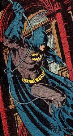 Detective Comics #527 (June 1983) Art by Dan Day (pencils), Pablo Marcos (inks) & Adrienne Roy (colors)