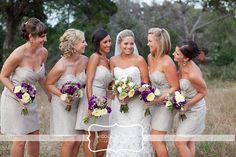 Alvina Valenta Bridesmaids Dress Style AV9244- Cashmere color:  Camp Lucy | Cory and Sarah » Nicole Chatham Photography Blog