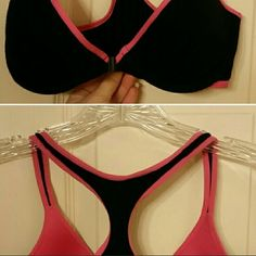 2Sexy Candie's push up padded Bras & racerback*$38 2 candies bras Never worn. I Love these but they are Too small for me sadly bcz i have gained weight and gotten much bustier as you can see in my pics. I am Willing to trade for new size 32-34DD-32-34F bras.    *Will sell each one for $14-18 each or 2 for $28-32 w/purchase   or  both Candie's push up bras plus racerback push up bra for $38 w/ purchase Candie's Intimates & Sleepwear Bras