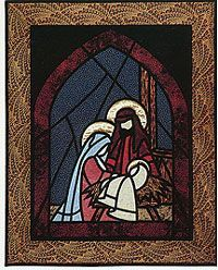 stained glass creche - Google Search