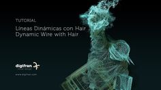 Líneas Dinámicas con Hair / Dynamic Wire with Hair C4D Fran Pérez Frutos Fran Pérez Frutos