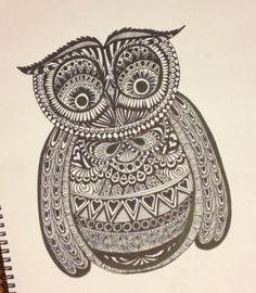 Meg's Owl - Bec Bennett