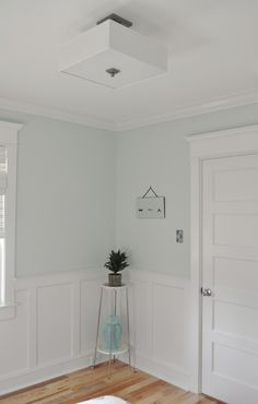 "What is the color and brand of paint on the walls? - Martha Stewart ""Spring Melt"" @ HD"