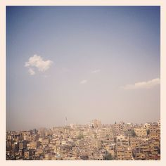 Amman (from the citadel). Spectacular! #JO #Jordan #Travel #Photography