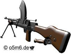 Engines of the Red Army in WW2 - Bren Gun Mk.1 Light Machine Gun