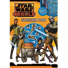 Anker Star Wars Rebels Sticker Pad @ niftywarehouse.com Star Wars Rebels, Star Wars Stickers, Star Wars Collection, Comic Books, Starwars, Geek, Child, Create, Movies
