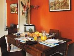 Orange Dining Room orange dining room   orange you glad i posted this paint color