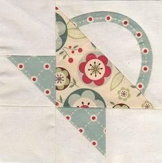 Flower Basket  beaut fabric choice