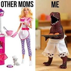 Other moms vs me