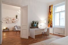 Modern furnished rented flat in Vienna, located close to Naschmarkt and Museumsquartier Vienna - Austria Vienna Austria, Your Perfect, Luxury Apartments, Flat, Interior, Furniture, Home Decor, Modern, Ideas
