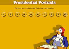 Presidential Portraits #quiz #educational