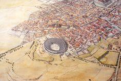 Túnez - Uthina (Oudhna) - Distrito del anfiteatro - Jean-Claude Golvin
