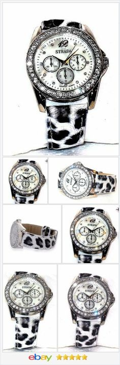 Black and White Leopard Print Austrian Crystal Watch  USA SELLER  | eBay  60% OFF #EBAY FLASH SALE - 60% OFF  #EBAY http://stores.ebay.com/JEWELRY-AND-GIFTS-BY-ALICE-AND-ANN …