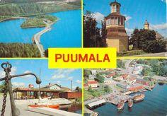 Kuva: PUUMALA Vintage Postcards, Album, Finland, Vintage Travel Postcards