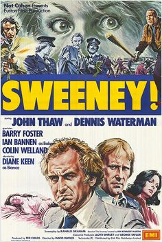 Image result for sweeney! film poster UK