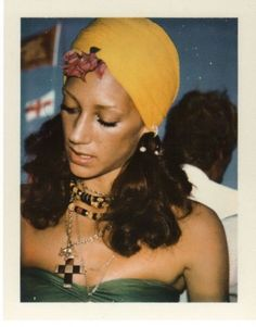 Marisa Berenson by Andy Warhol...i would love to be caught dead in this