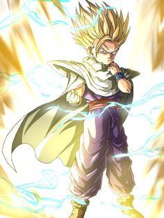 Gohan SSJ2 Manga Dbz, Manga Dragon, Dragon Ball Z, Ssj2, Goku Face, Gorillaz, Fan Art, Illustrations, Animation