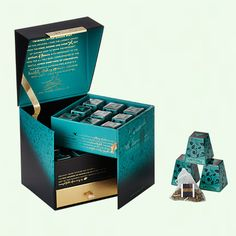 After Dinner Mint - Silky Pyramid Mesh Bags - Signature Blends - Twinings Tea