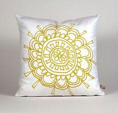 flower pillow from etsy