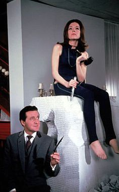 Macnee played the bowler-wearing and umbrella-toting Steed most famously opposite Diana Riggs' Emma Peel and Honor Blackman's Cathy Gale on the 1960s TV series. The Avengers, which originated on Britain's ITV, ran from 1961 until 1969.