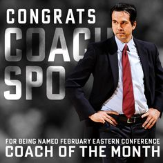 Coach of the Month - Erik Spoelstra