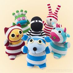 Sock Creatures Patterns - Bing images