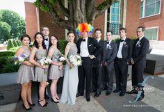 Bridal Bliss Wedding: Such a fun bridal party! Portland-Wedding-Photography-FritzPhoto-220