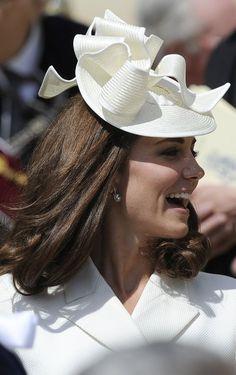 HRH the Duchess of Cambridge in a pert topper