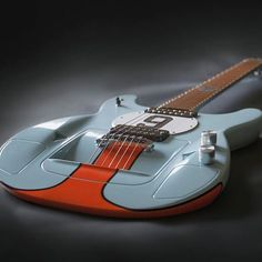 This sleek GT40™ guitar is as fast as it looks.