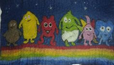 Babblarna My Design, Felt, Painting, Felting, Painting Art, Feltro, Paintings, Drawings, Felt Crafts
