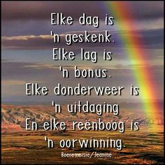 Color Splash Photo, Afrikaanse Quotes, Good Morning Wishes, Bible, Thoughts, Kwazulu Natal, Tart, Greeting Cards, Happy Birthday
