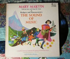 Mary Martin tells the story and sings The Sound of Music (1966, Children's, Vintage ,Disney LP Vinyl Record)$16