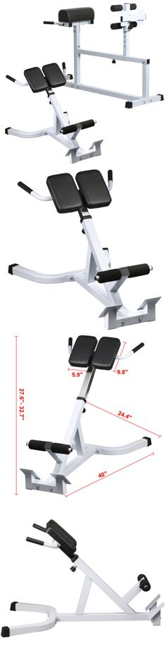 Benches 15281: Hyper Extension Back Hamstrings Exercise Ab Bench Gym Abdominal Roman Chair -> BUY IT NOW ONLY: $60 on eBay!