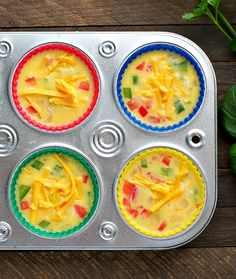 Just 10 minutes of prep for an easy and healthy make-ahead breakfast: Freezer-Friendly Western Omelet Egg Muffins! Omlet Muffins, Egg Muffins, Breakfast Muffins, Eat Breakfast, Breakfast Recipes, Breakfast Ideas, Perfect Breakfast, Breakfast Casserole, Healthy Make Ahead Breakfast