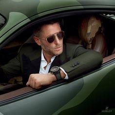 gentleman-and-a-scholar: Italia independent X hublot Big Bang Unico Suit Fashion, Love Fashion, Mens Fashion, Daily Fashion, Latest Fashion, News Italia, Lapo Elkann, Green Chinos, Der Gentleman