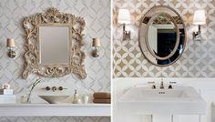 """Apesar do tamanho reduzido, é possível deixar o lavabo com um visual diferente e criativo. Saiba como transformar a decoração do lavabo investindo em poucos itens que vão fazer toda a diferença no resultado final. O vídeo da Revista do Zap no estilo """"Faça você mesmo"""" mostra como aplicar adesivo de parede, personalizar um espelho e transformar uma lixeira simples para deixar o ambiente mais alegre."""