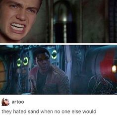 Sand haters