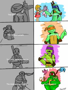 The  last one I had not thought of. A new thing between me and Raph. Whatdayya know.