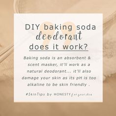 DIY baking soda deodorants have a lot to answer for... Baking soda deodorants have lots of skills which in theory make them great at natural protection... thing is baking soda deodorants also have 1 humungous hiccup that let them down - their skincare pH.
