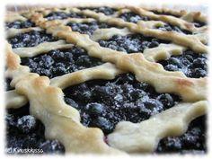 mustikkapiiras2 Blueberry, Waffles, Pie, Lunch, Baking, Breakfast, Desserts, Food, Torte