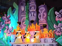 It's a Small World ride - Pacific Islands